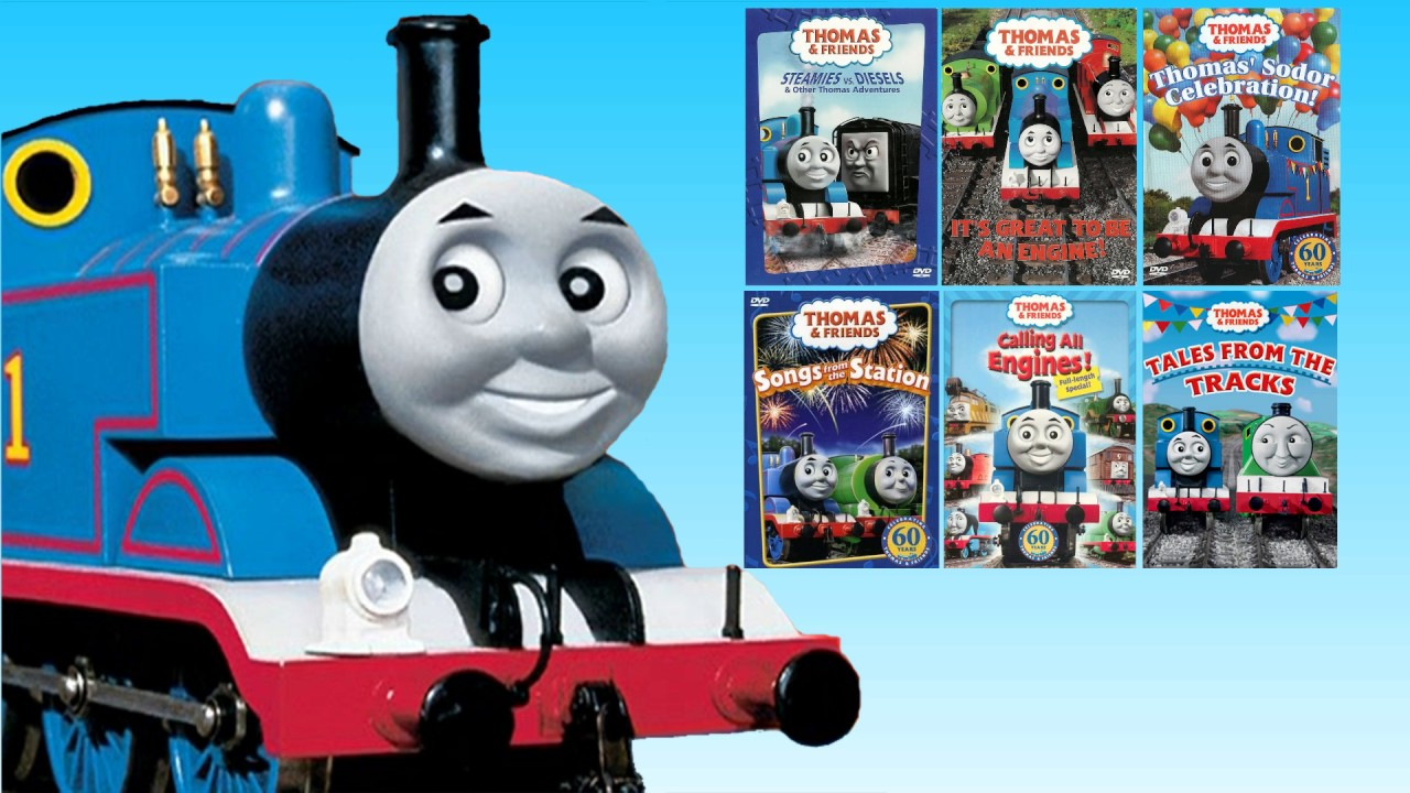 thomas friends us dvd menu theme youtube