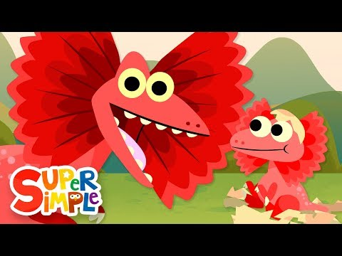 10 Little Dinosaurs #2 | Kids Songs | Super Simple Songs