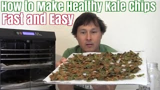 How to Make Healthy Kale Chips Fast and Easy