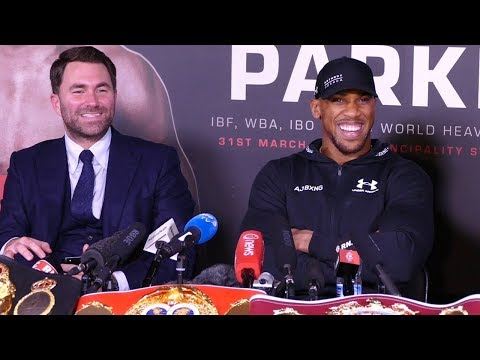 Anthony Joshua POST FIGHT PRESS CONFERENCE | vs Joseph Parke