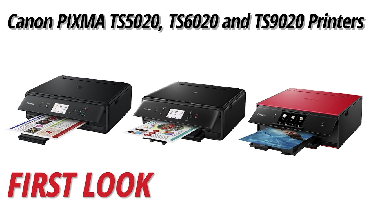 First Look Canon Pixma Ts5020 Ts6020 And Ts9020 Wireless All In