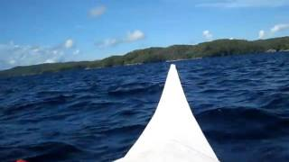Challenging Wave going to Sarangani Island