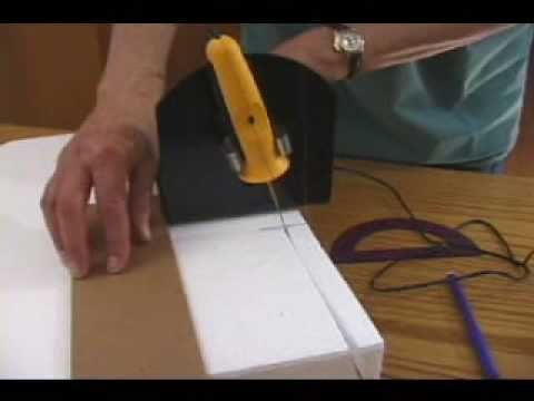 Foam Cutting: Sled Guide for Controlled Cuts