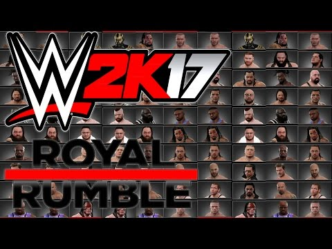 WWE 2K17 - 30 MAN 2017 ROYAL RUMBLE MATCH - XBOX ONE