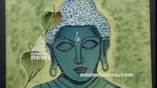 'Shades of life' Lakha Jewel Glass painting exhibition at kozhikode