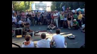 Munich Germany street dancing Dj electronic trance music