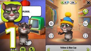 My Talking Tom - Walkthrough Gameplay Part 1 (iOS) screenshot 3