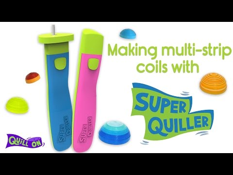 How to make multi-strip coils with the Super Quiller