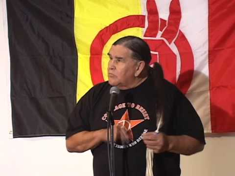 Clyde Bellecourt speaks at the 2009 AIM Fall Conference (pt 4 of 6)