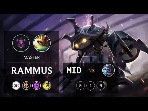 Rammus Mid vs Talon - KR Master Patch 9.24