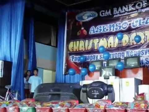 GM Bank of Luzon Christmas Party(Talentadong Pinoy)