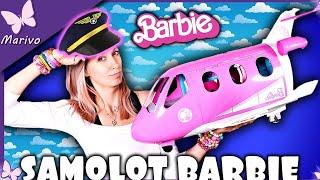SAMOLOT BARBIE DREAM PLANE ✈✈✈ lecimy! lecimy! ✈✈✈ Unboxing z lalkami po polsku Marivobox