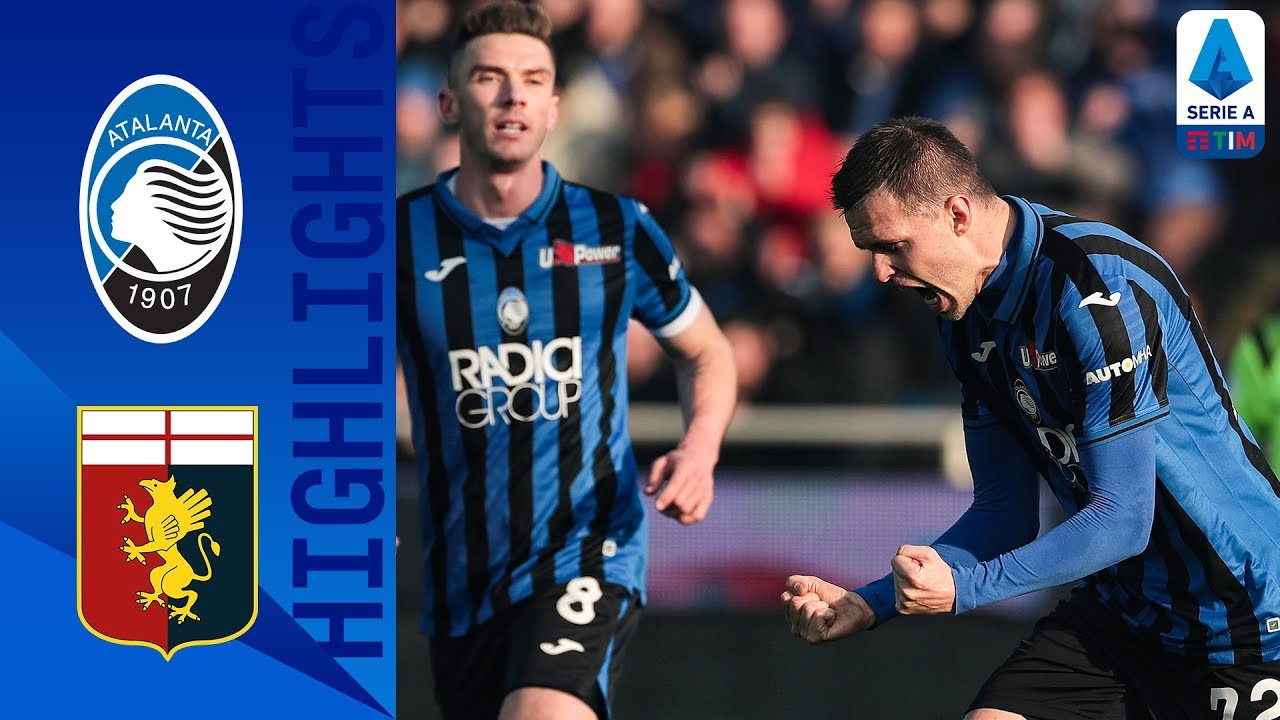 Atalanta 2-2 Genoa | 10-Man Genoa Hold on to Draw After Iličić Scores Again!  | Serie A TIM