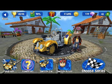 Beach Buggy Racing - Championship Lunar Rover 1000 HP (Part 5-5)