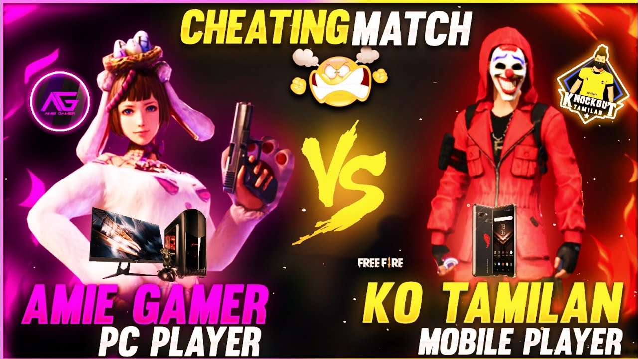 💥Amie gamer vs KNOCKOUT TAMILAN😂 | top funny moments& freefire full Attacking ranked match in tamil