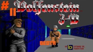 Let's Play Wolfenstein 3D | Part 11 | Beoth