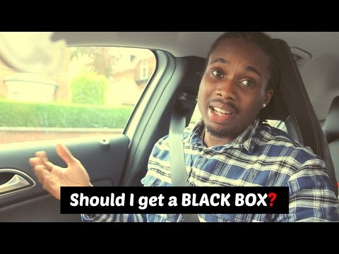 Cheap car insurance for young drivers UK   SHOULD I GET A BLACK BOX?