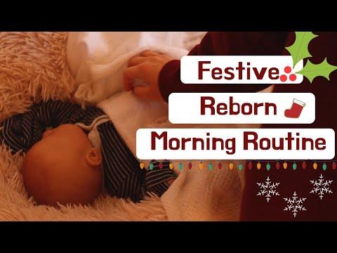 Festive Reborn Morning Routine l Reborn Life