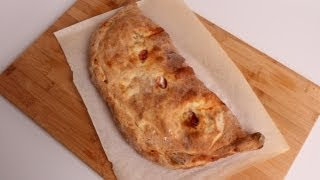 Homemade Calzone Recipe - Laura Vitale - Laura In The Kitchen Episode 351
