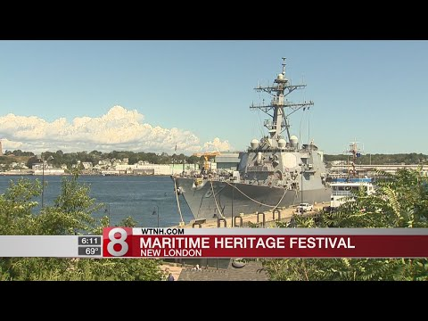 USS Cole in New London for Connecticut Maritime Heritage Festival