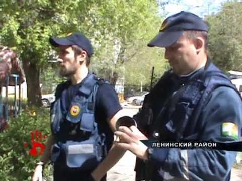 В 318 ом садике Ленинского района вороны напали на детей