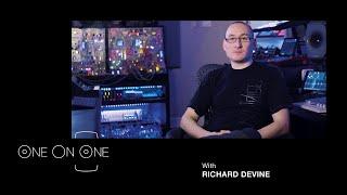 Electronic Music Composer Richard Devine Studio Interview | Genelec 8331