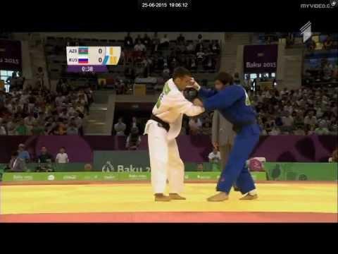 Beslan Mudranov vs Orkhan Safarov European games Baku 2015