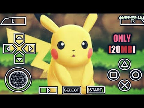(20MB) POKEMON PPSSPP DOWNLOAD ANDROID POKEMON ISO POKEMON GAME