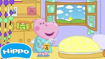Hippo 🌼 Guten Morgen Hippo 🌼 Alle Serien 🌼 Cartoon Spiel für Kinder