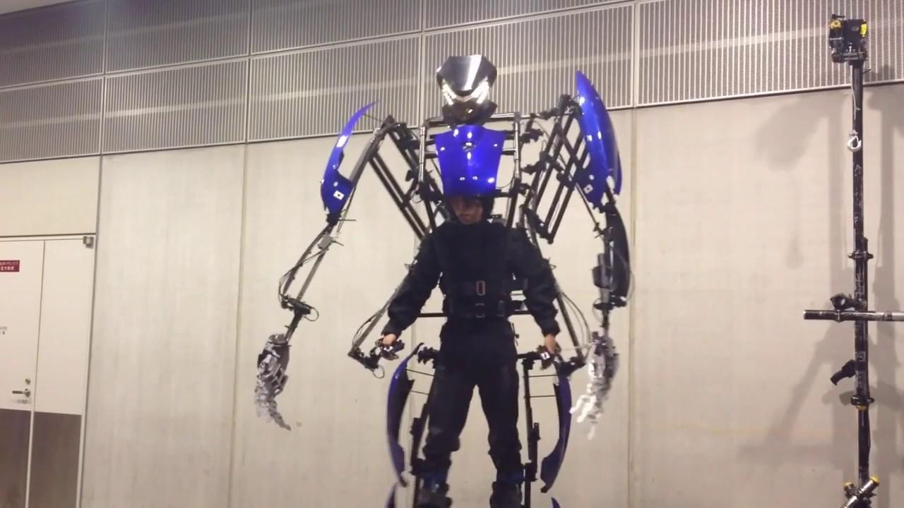 Exoskeleton Suit By Skeletonics Youtube