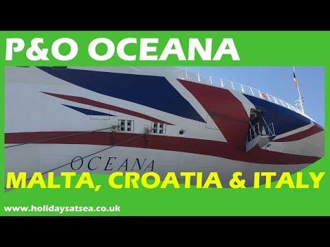 P&O Oceana Ship Tour and Cruise video