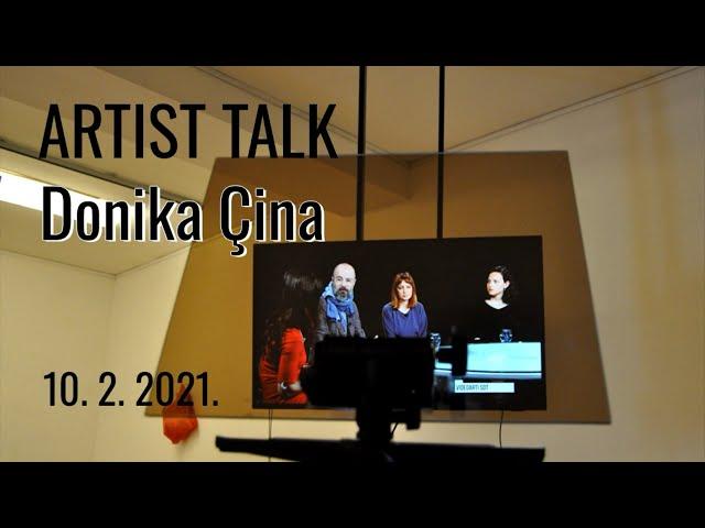 Artist talk / Donika Cina