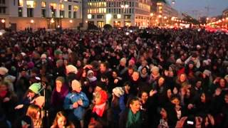 Flash mob BERLIN - One Billion Rising, 14.02.2013