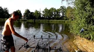 Pêche à la carpe - Compilation Départ Carpe et Esturgeon - CARPEMAPASSION 2013