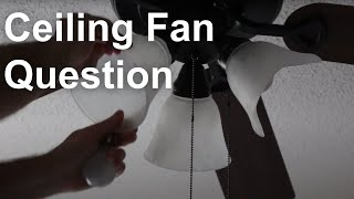 Ceiling Fan Light Cover Replacement Question - March 8th, 2020