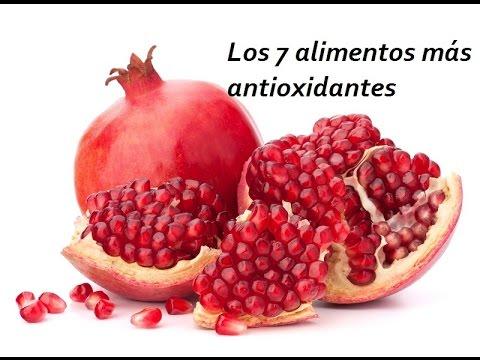 Los alimentos con m s antioxidantes youtube - Antioxidantes alimentos ricos ...