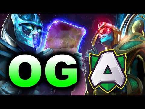 OG Vs ALLIANCE - TI CHAMPIONS GAME!!! - CHONGQING MAJOR DOTA 2