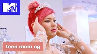 'Amber Is Speechless About Her Wedding Gown' Official Sneak Peek | Teen Mom OG (Season 6B) | MTV