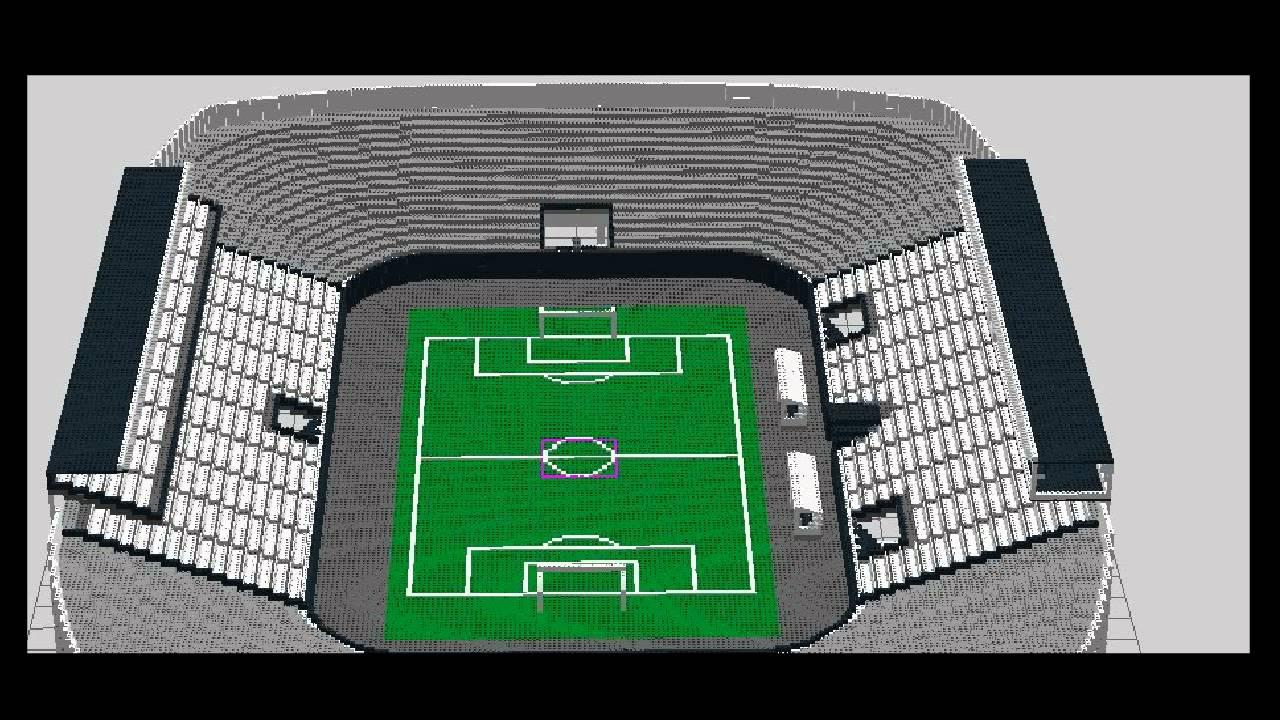 stadium on lego digital designer youtube. Black Bedroom Furniture Sets. Home Design Ideas