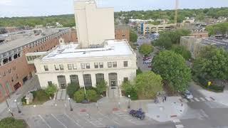 Iowa City Downtown Drone, fall 2017