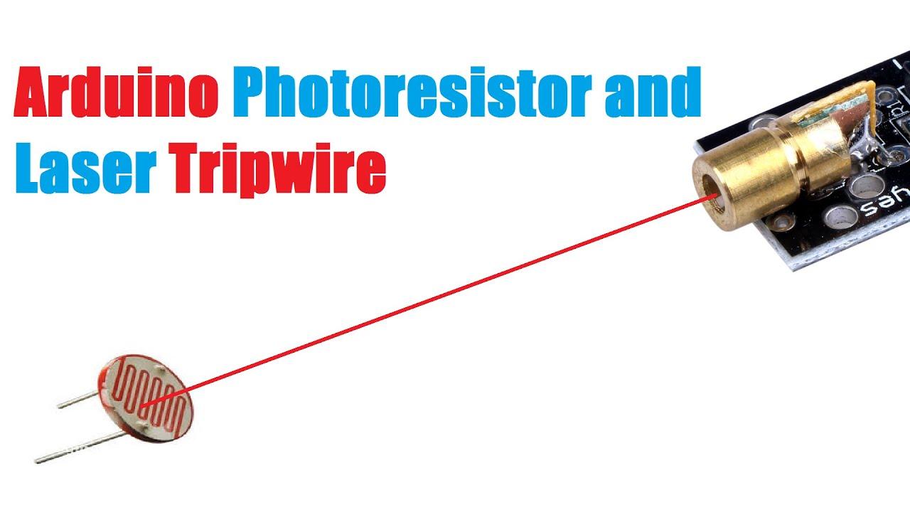 Arduino laser tripwire youtube