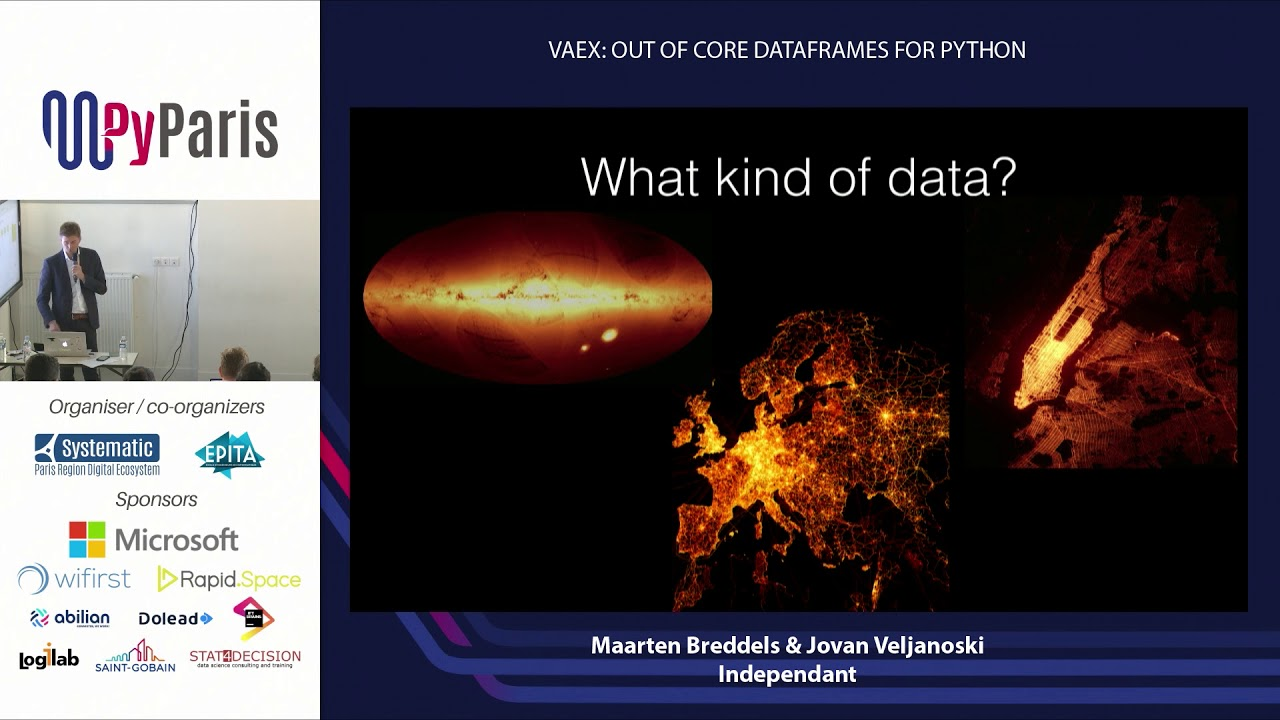 Image from Vaex: Out of Core Dataframes for Python