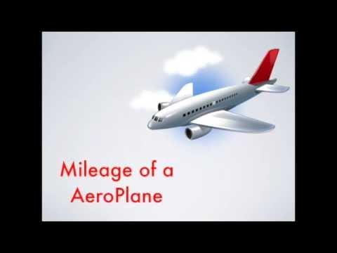 Mileage of an AeroPlane