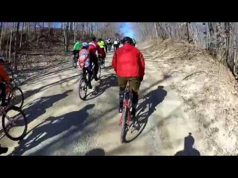 2015 Barry-Roubaix Gravel Race in Hastings, MI. Start Wave 15