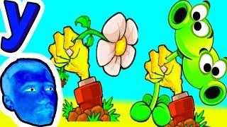ПРоХоДиМеЦ вредит Растениям! ЗОМБИ Побеждают! #255 ИГРА для ДЕТЕЙ - Растения против ЗОМБИ