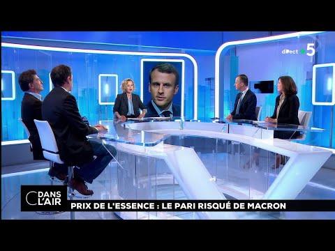 Prix de l'essence : le pari risqué de Macron #cdanslair 25.10.2018