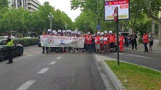 Trabajadores de las ambulancias de CyL piden más  seguridad