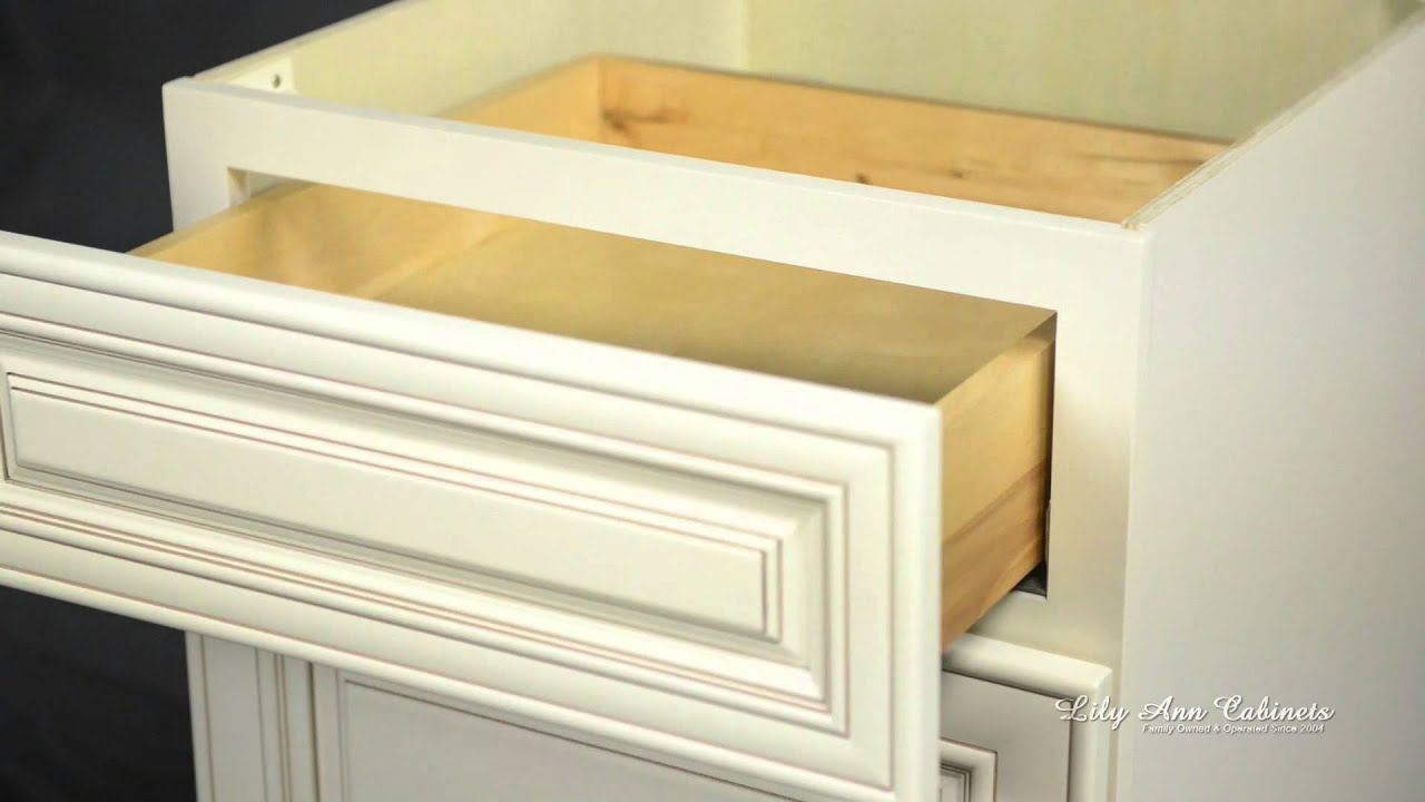 Lily ann cabinets bristol antique white cabinet features - Lily ann cabinets ...