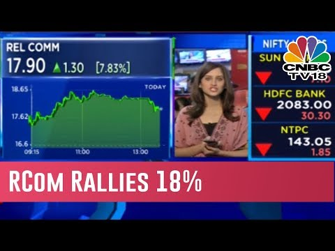Reliance Communication Continues To Rally, Rise Nearly 18% In 45 Days