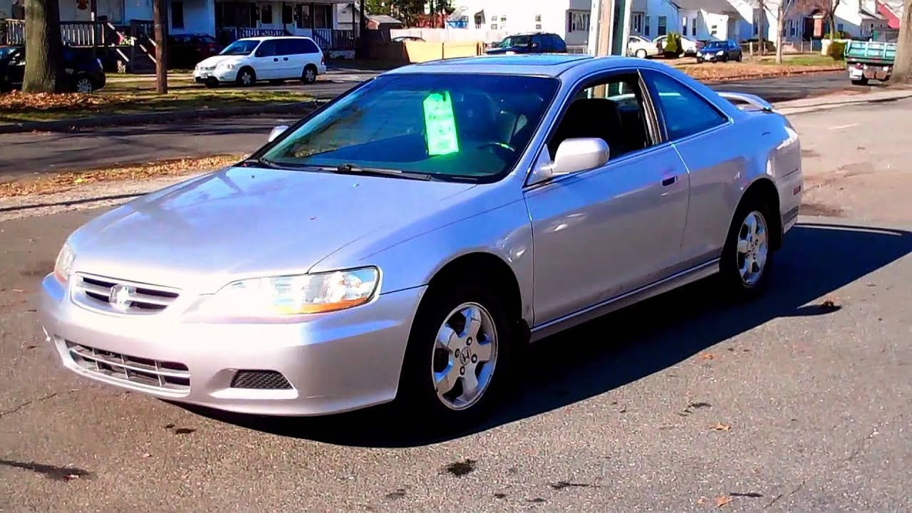 2002 Honda Accord Ex L Coupe 2dr 2 3l Vtec 4cyl At Youtube